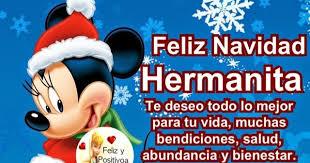 imagenes de navidad hermana feliz y positiva feliz navidad hermanita