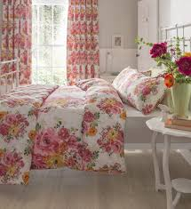 Shabby Chic Floral Bedding by Bedroom Comforter And Curtain Sets Duvet Curtains Images