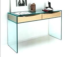 bureau verre console verre fly bureau table console verre fly loftsessions co