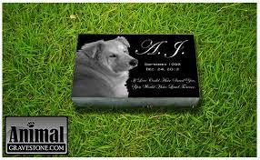 pet memorial stones animal gravestones