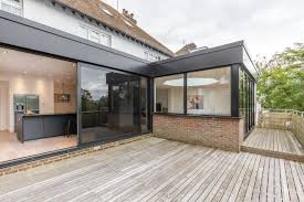 Flat Roof Contemporary Flat Roof Rear Extension To Detached Brighton