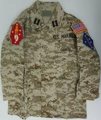 Uniform Flag Patch Kids Desert Digital Camo Bdu Jacket With Marine Patches Sew On