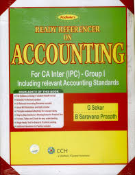 padhuka u0027s ready referencer on accounting for ca inter ipc group