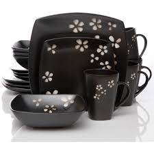 better homes and gardens sylvan springs 16 dinnerware set