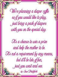 raffle baby shower wishing well poem poem raffle baby shower