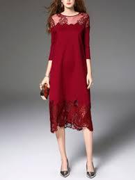 plaid hollow out pocket round neck maxi dress fashionmia com