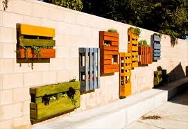 13 pallet vertical garden for beautifying you home pallet