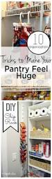 Organizing Your Pantry by 10 Organization Tricks To Make Your Pantry Feel Huge Wrapped In Rust