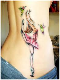 beautiful hummingbird tattoo designs for on upper back