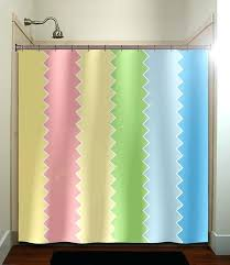 Pink Green Shower Curtain Blue And Yellow Shower Curtain Blue Green White Stripes Shower