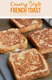 amanda n mccullough country style french toast