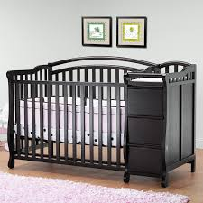 Storkcraft Portofino Convertible Crib And Changer Combo Espresso by Crib And Changer Combo Espresso Creative Ideas Of Baby Cribs