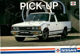 datsun nissan truck 1983 nissan pickup information and photos momentcar