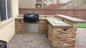 Outdoor Patio Grill Island Bbq Islands San Diego Outdoor Kitchen Contractors San Diego