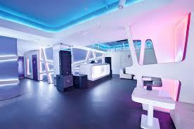 Futuristic Design Futuristic Design Krysha Cafe By Grosu Art Studio