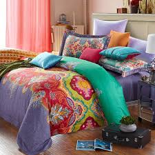 Indian Inspired Bedding Red And Purple Bedding Galaxy Duvet Cover On On Sctrending Galaxy