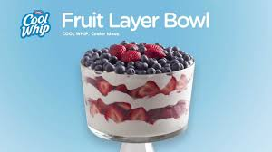 unique fruit bowl cool whip fruit layer bowl youtube