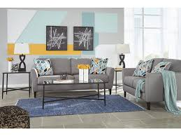 apartment size sofas and loveseats signature design by ashley living room 5pc pelsor apartment size