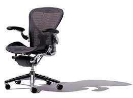 aeron ergonomic mesh back chairs from herman miller
