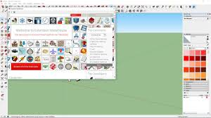1 how to download free sketchup plugins from extension warehouse