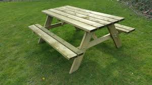 Picnic Table Bench Combo Plan Table Scenic Bench Picnic Table Combo Plans Furniture Decor Trend