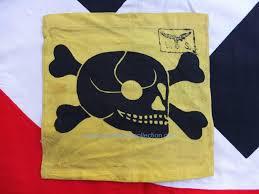 German Flag Shirt German Luftwaffe Schule Mine Gas Warning Skull Flag Jims