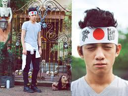 japanese headband david guison saizen japanese headband walker gray veck