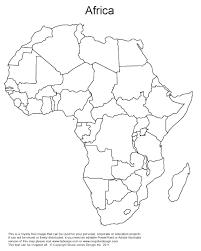blank africa map worksheet worksheets