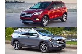 Rugged Terrain Vs All Terrain 2018 Ford Escape Vs 2018 Gmc Terrain Head To Head U S News