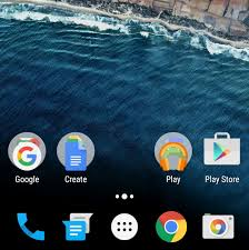 create folder on android android 6 0 marshmallow folders use stacked app icons image from