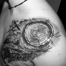 dream catcher tattoo for man dreamcatcher tattoos for men ideas