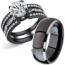 buy titanium rings images Mabella couple rings black men 39 s titanium matching jpg