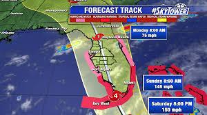 Map Of Daytona Beach Hurricane Irma Draws Closer To South Florida Widespread Impacts