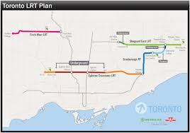 Ttc Map Toronto Transit System 2020 The Point Of The Situation
