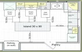 kitchen layouts dimension interior home page kitchen layout with island dimensions