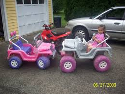 purple barbie jeep modified power wheels first mod 2
