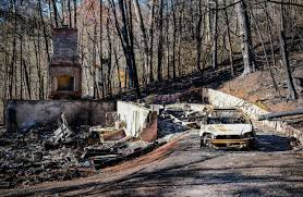 Wildfire Sports Car Value by Gatlinburg Residents Vow To Rebuild After Wildfires Ravage Area Wsj