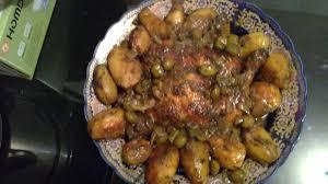 cuisine marocaine poulet aux olives tajine de poulet aux olives dans l assiette de lilia il y a