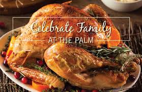 come together for thanksgiving at the palm las vegas with festive