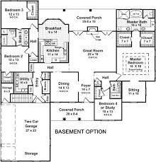 one floor plans with two master suites ranch style house plans with two master suites tiny house
