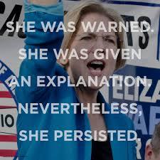 Elizabeth Warren Memes - kamala harris on twitter by silencing elizabeth warren the gop