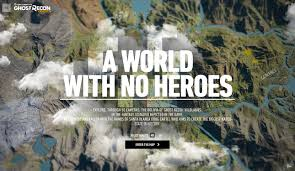 Biggest Video Game Maps A World With No Heroes Awwwards Sotd