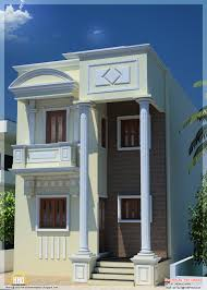 ft narrow house design in india kerala home design and floor plans