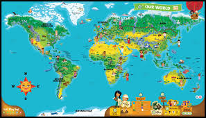 World Map Continents And Countries by Leapfrog Interactive World Map Toys Fun World
