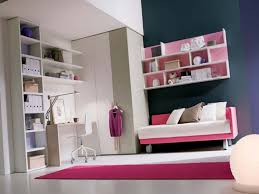 Bedroom Wall Shelves Design Beautiful Bedroom Design With Pink Wall Shelves And White