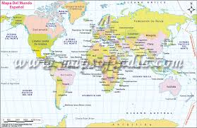 world map in world map in mapa mundo espanol
