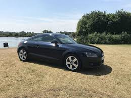 2008 audi tt 2 0 tdi quattro 170 bhp blue 6 spd manual turbo