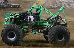 grave digger truck