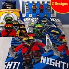 Lego Bedding Set Reversible New Ninjago Lego Duvet Cover Bedding Set