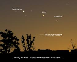 Bright Light In Western Sky What U0027s That Bright Star At Dawn U2013 Astro Bob